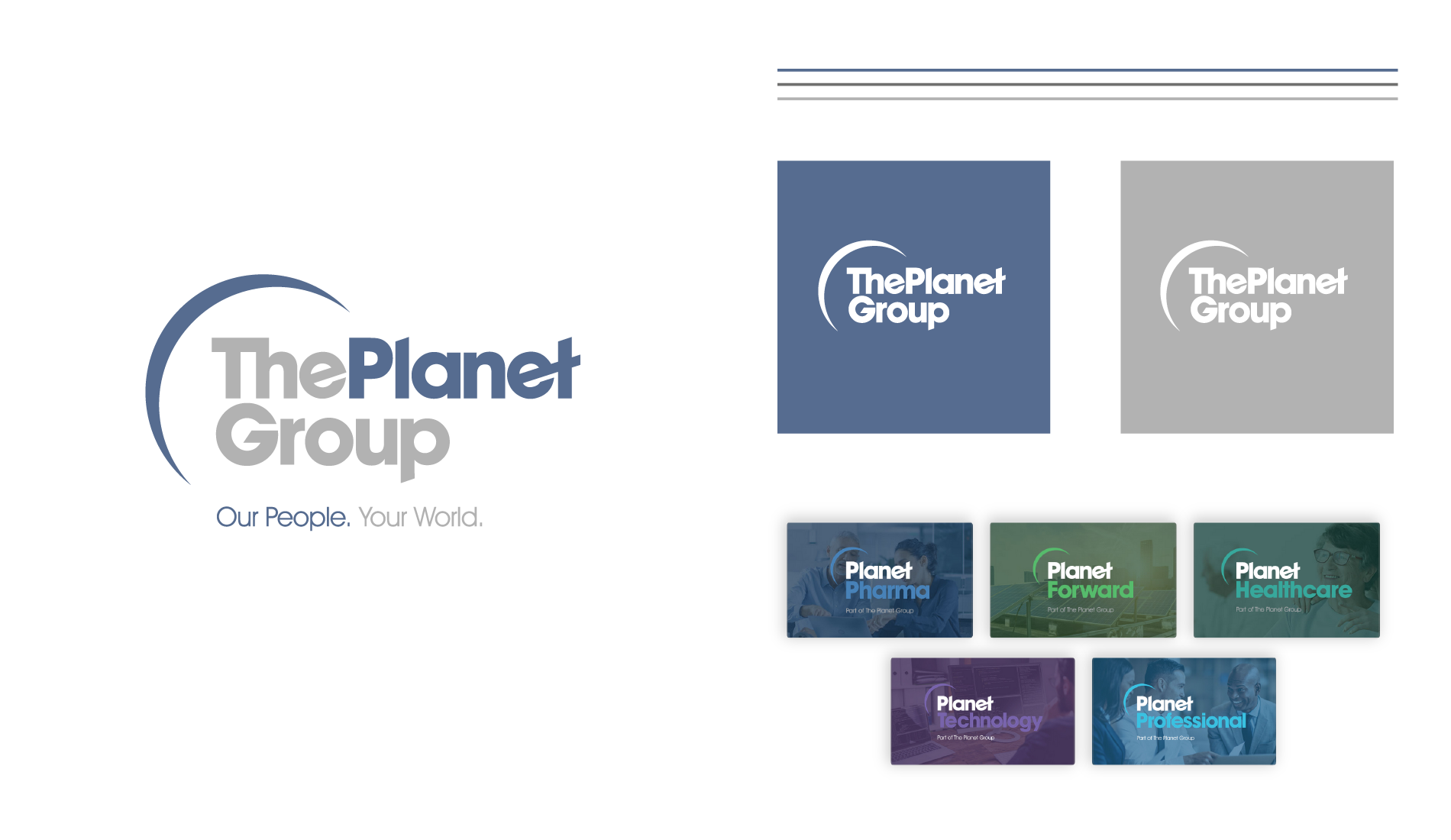 The Planet Group Branding